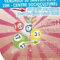 Centre Socioculturel : soirée Loto, vendredi 30 janvier 2015 - Clermont (Oise)