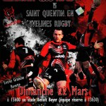 Clermont Club Rugby vs Saint-Quentin-en-Yvelines, dimanche 22 mars 2015 - Clermont (Oise)