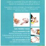 Votre Bébé et Vous - Journées Départementales de Sensibilisation, les lundi 17 et mardi 18 novembre 2014 - Clermont (Oise)