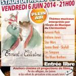 Ciné-Concert : Ernest et Célestine - Thèmes musicaux interprétés par l'École de Musique du Clermontois, vendredi 6 juin 2014 - Clermont Oise