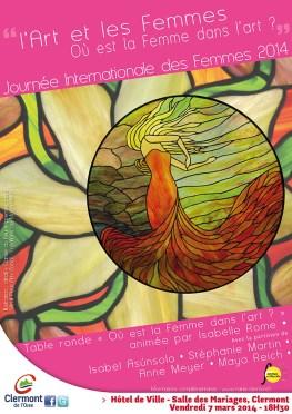 Journée Internationale des Femmes 2014, vendredi 7 mars - Clermont Oise