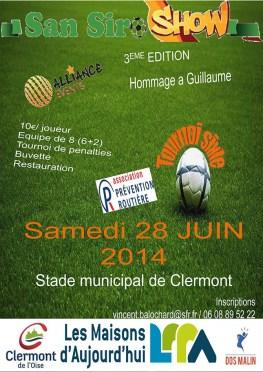 Tournoi de sixte, samedi 28 juin 2014 - Clermont Oise