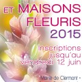 Balcons et Maisons Fleuris 2015 - Clermont