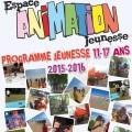 Jeunesse 11-17 ans : programme des activités 2015-2016 - Clermont oise