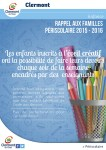 Rappel aux familles Périscolaire 2015 - 2016 : aide aux devoirs - Clermont Oise