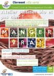 Atelier cuisiner bio et pas cher ! samedi 10 octobre 2015 - Clermont Oise
