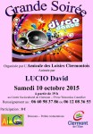 Grande soirée disco dance, samedi 10 octobre 2015 - Clermont Oise