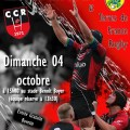Clermont Club Rugby vs Terres de France Rugby, dimanche 4 octobre 2015 - Clermont Oise