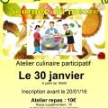 Cuisine Syro-Libanaise avec Sawa Ensemble, samedi 30 janvier 2016 - Clermont Oise