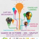 Le jour de la nuit : les économies d'énergie parlons-en ! Samedi 8 octobre 2016