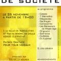 L'association Église La Source, en partenariat avec la Médiathèque de Clermont, organisent une soirée jeux de société le samedi 26 novembre 2016, à partir de 19h, à la salle de musculation 87 rue du Général de Gaulle.