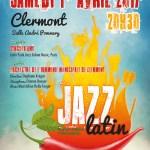 """L'Harmonie Municipale de Clermont vous propose son concert de printemps autour du """"Jazz Latin"""", musique cubaine et afrocubaine, le samedi 1er avril 2017, 20h30, salle des Fêtes André Pommery."""