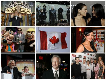 celebrity collage