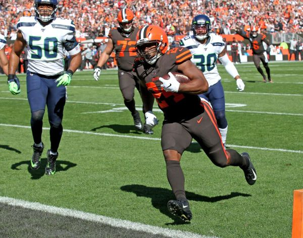 Cleveland Browns faced 4th and goal vs. the Seahawks with 10:43 to play, and then craziness ensued