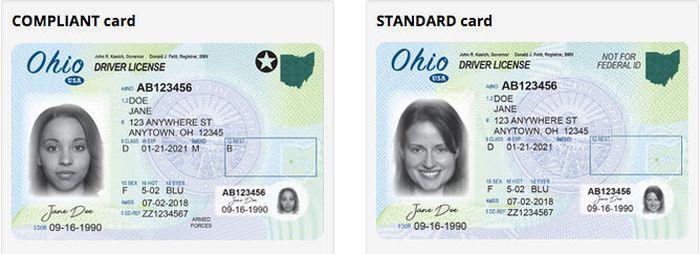 Ohio S New Compliant Driver Licenses