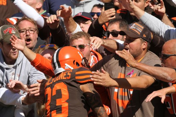 The Cleveland Browns and the frustrating, exhilarating weirdness that comes with them
