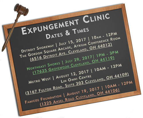 August Expungement Clinic @ Famicos Foundation | Cleveland | Ohio | United States