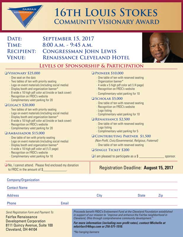 Louis Stokes Community Visionary Breakfast