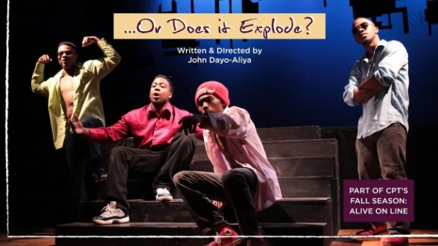 Cleveland Public Theatre presents ...OR DOES IT EXPLODE? (virtual) @ A premiere zoom adaptation