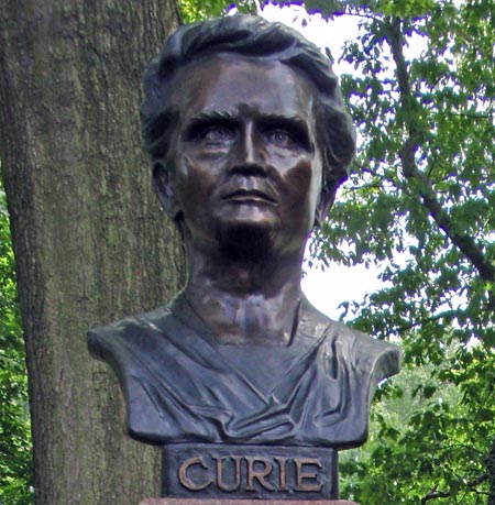 Madame Curie bust
