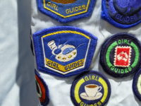 Girl Guide badges earned by Dione Gardner-Stephen