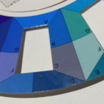 portion of a colour wheel
