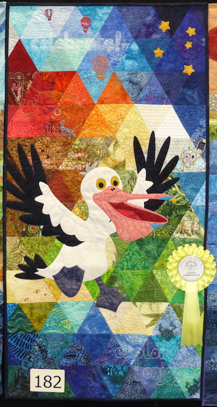Celebrate SA quilt by Dione Gardner-Stephen at 2017 FOQ
