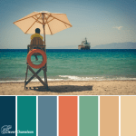 Hazy Days colour scheme from Clever Chameleon