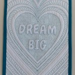 Dream Big mini quilt