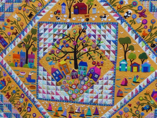 Royal Adelaide Show quilts 2017, embellished
