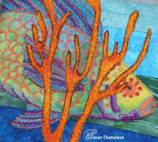 Remember to thank the cleaner (shrimp), detail. By Dione Gardner-Stephen