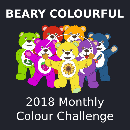 Beary Colourful Quilt BOM