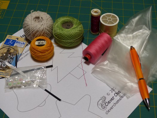 String art ornament supplies