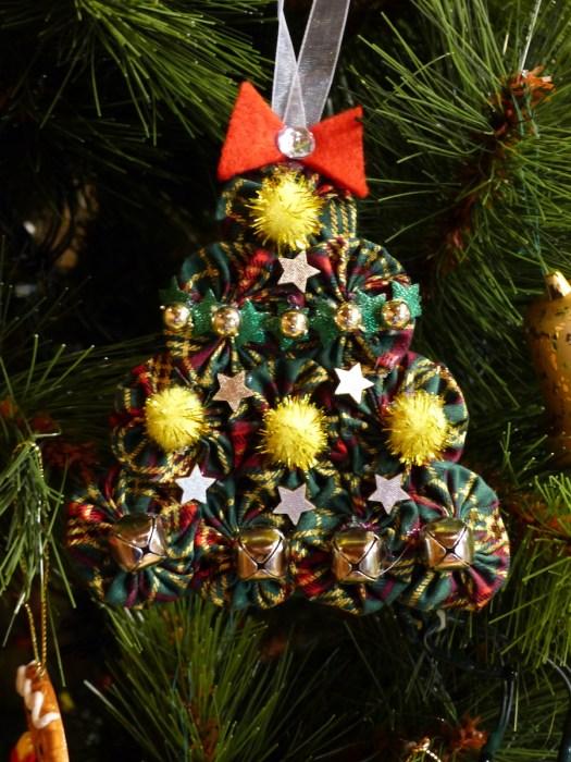 Suffolk Puff Tree ornament