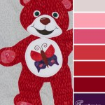 Red Bear of New Beginnings color scheme from Clever Chameleon