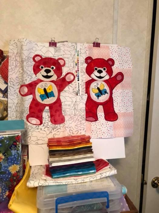 Joyelene's Red bears