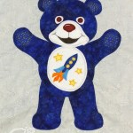 Blue Bear of High Hopes appliqué from Clever Chameleon