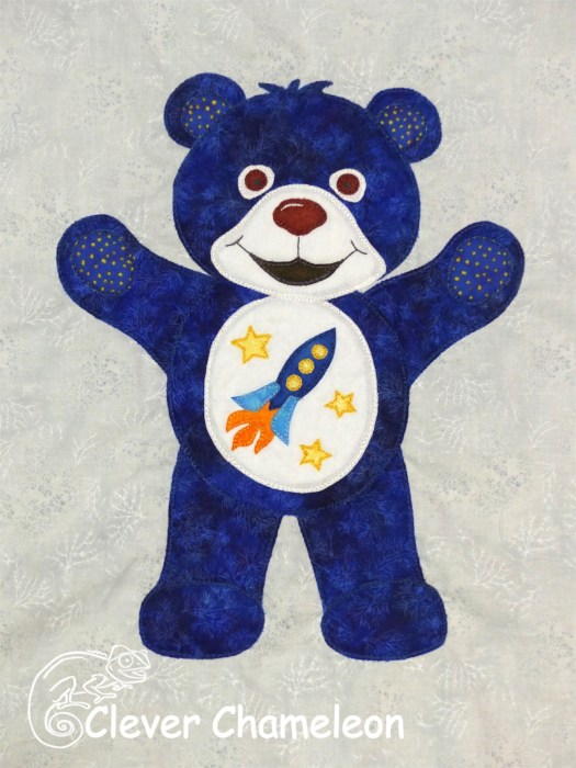 Blue Bear of High Hopes from Clever Chameleon
