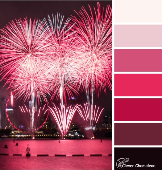 Galentine's Day color scheme by Clever Chameleon