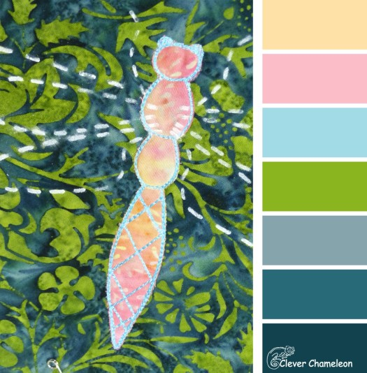 Dragonfly Dance color scheme by Clever Chameleon