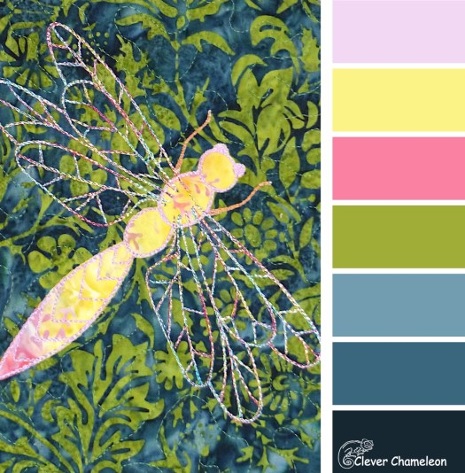 Dragonfly Disco color scheme by Clever Chameleon