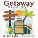 Getaway bog hop with Island Batik