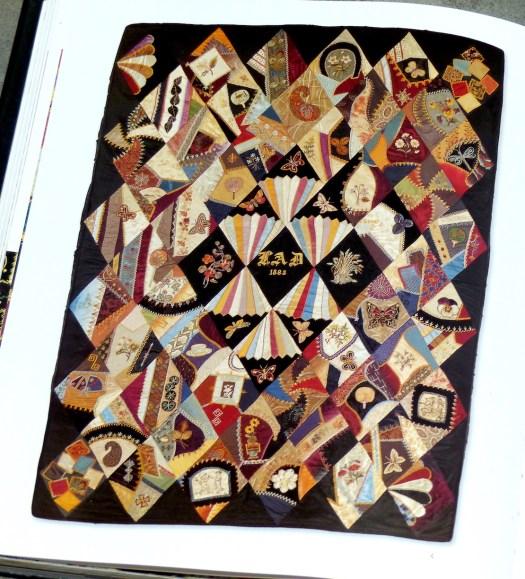 Matha Bingley's crazy diamond quilt