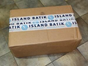 Island Batik Ambassador shipment