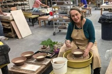 Liz Hyde: Impressions of Nature in Pottery