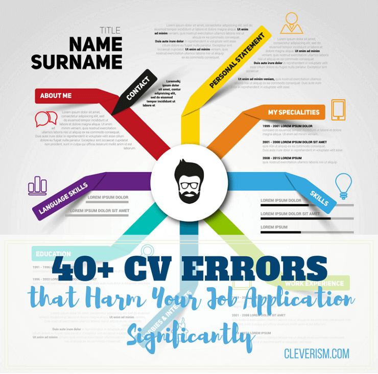 40+ CV Errors that Harm Your Job Application Significantly