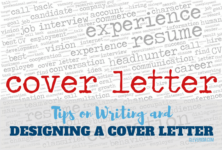 tips on writing and designing a cover letter that excites hiring managers