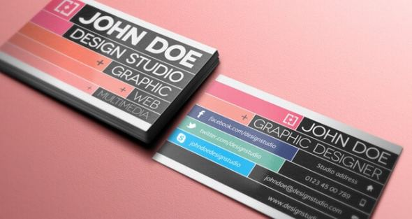 75 free business card templates that are stunning beautiful 32 creative business card template v2 cheaphphosting Images