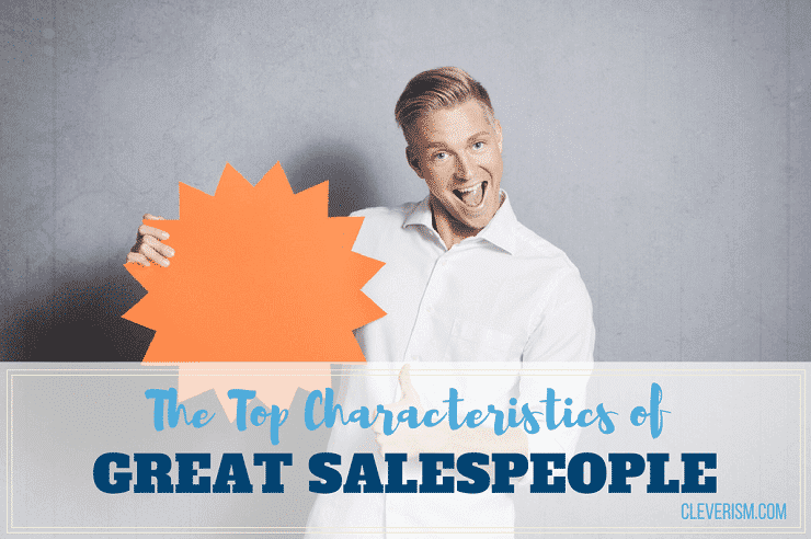 Characteristics necessary for a salesperson