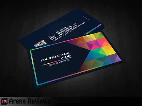 69 Graphic Design Business Card Template